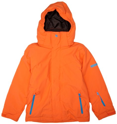 Quiksilver Jungen Snowboard Jacke Next Mission Plain Youth, orange, 140 / 10 Jahre, KPBSJ023-ORG-T10 (Quiksilver Jungen Snowboard Jacke)