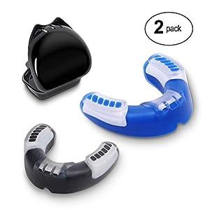 Force Valley Zahnschutz, Mundschutz Schützt Zähne, Zahnfleisch & Kiefer Sportmundschutz für MMA, BJJ, Boxen, Muay