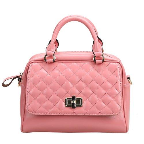 Dissa Q0436 donna Borse a spalla,Borse a tracolla28x20x14 cm (B x H x T) Pink