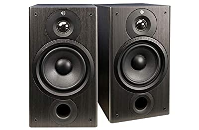 Mordaunt Short M20, Compact Bookshelf Speakers (Pair) - Black by MORDAUNT-SHORT