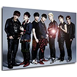 Instabuy Poster KPOP - BTS (E) (Cartel 70x50)