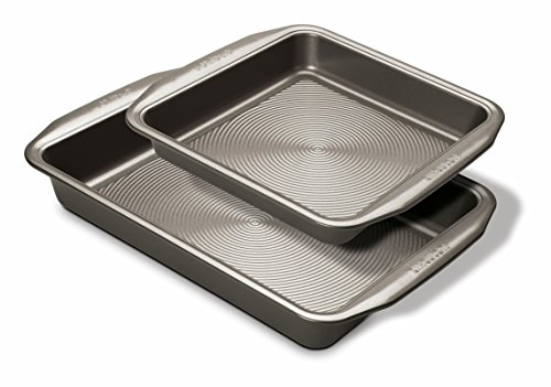 Circulon Momentum Bakeware Steel Non-Stick Roast and Bake Set of 2, Carbon, Grey