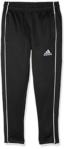adidas Kinder CORE18 TR PNT Y Sport Trousers, Black/White, 5-6Y (Adidas Kinder)