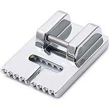 Sundlight Máquina de coser prensatelas con nueve ranuras Tucker tanque del pie prensatelas