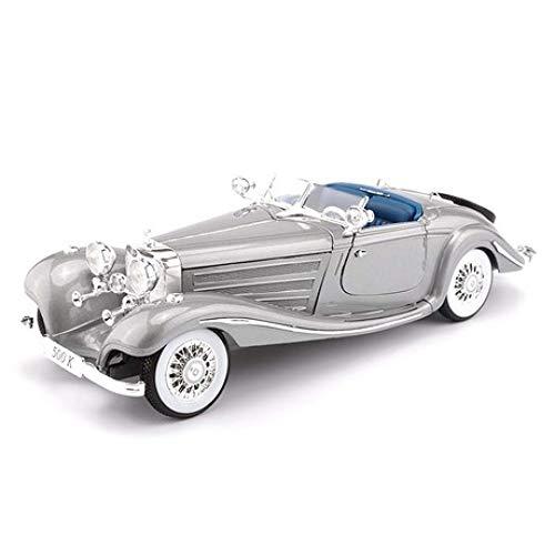 GFLD Modelo de automóvil de aleación de simulación 1:18 Mercedes 50