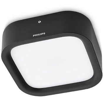 Philips Luminaire Extérieur LED Applique Puddle Noir