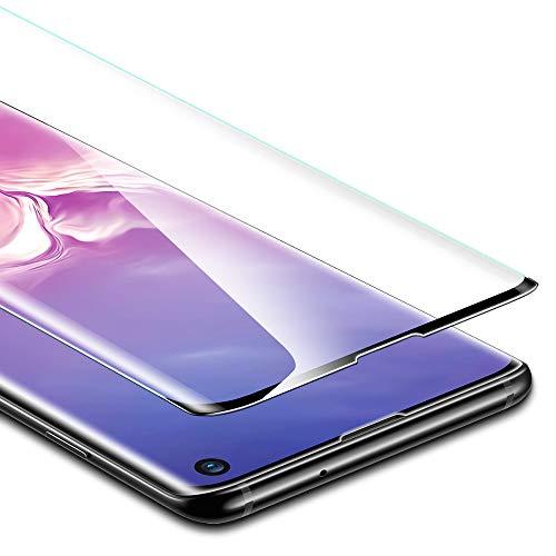 ESR Pellicola Protettiva per Samsung Galaxy S10, Proteggischermo in Vetro Temperato [Protezione Massima 3D] [Copertura Schermo Intero], per Samsung Galaxy S10 (2019)