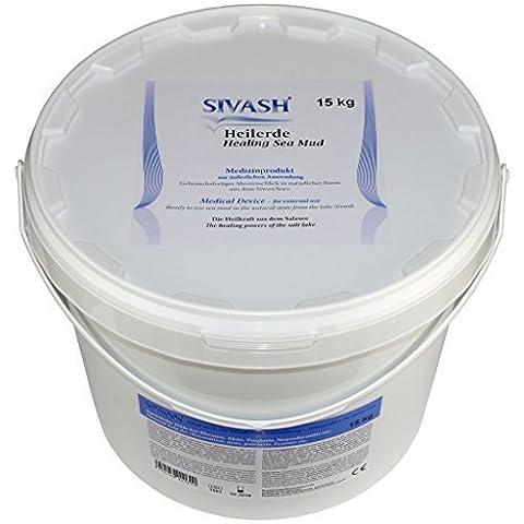 SIVASH-Heilerde Sel magnésium contenant du sulfure Péloïde grêle - boue avec bêta-carotène de Algues marines a la Utilisation pour acné,Psoriasis,rodermitis; Douleurs en dos,Osseuse et