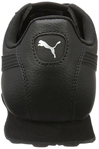 Puma Herren Turin Low-Top, 42.5 EU Schwarz  (Black-Black 06)