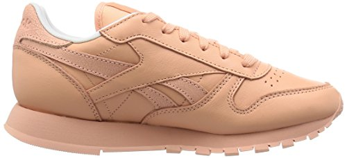 Reebok Classic Leather Spirit, Baskets Basses Femme Orange - Orange (Desert Stone/White/Rosette)