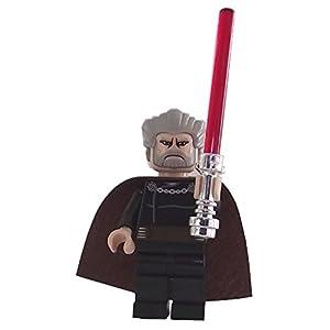 LEGO TM: Il Conte Dooku Minifigure con Spada Laser Rossa e Un Fiore 4250986600190 LEGO