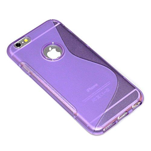 """deinPhone Étui pour iPhone 6(4,7"""") S-line Lila"""