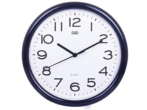 Trevi OM 3301 Orologio da Muro al Quarzo con Movimento Silenzioso Sweep,...