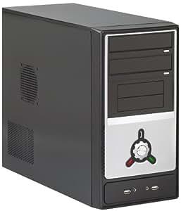 Heden Boitier Mini tour Micro ATX, Alim 480W USB ,dim. 430*350*180, couleur Noire/silver