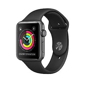 Apple Watch Series 2 42mm Smart Watch (Space Grey Case, Black Sport Band)