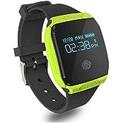 YAMAY® Fitness Tracker Wasserdicht Sport Bluetooth Armband Uhr Aktivitätstracker für Schwimmen