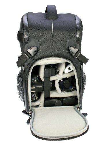Dörr Yuma Double Sling Backpack Black,Silver - Camera Cases (Backpack, Universal, Black, Silver) Black, Silver