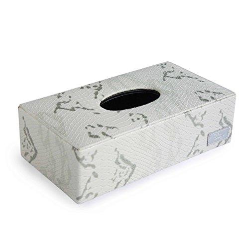 Cordays - Boîte à Mouchoirs Fait Main en Qualité Premium: Collection Maison. Crème CDH-20005