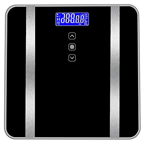Deesee Körperfettwaage für das Badezimmer, 180 kg