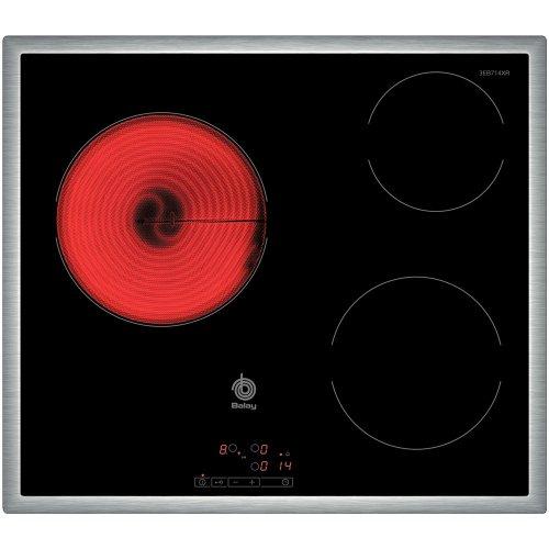 Balay 3EB714XR - Placa de cocina vitrocerámica de 60 cm de ancho,...