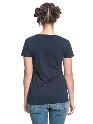 Assassins Creed Damen Girlie Shirt Vulpture Syndicate Logo Baumwolle blau Blau