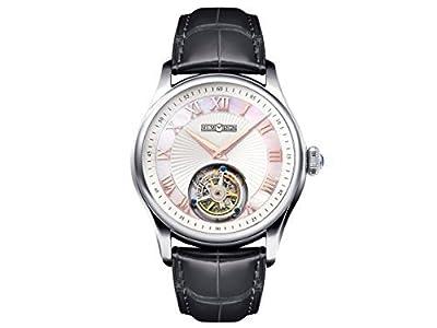 Men's AT0221 Orbit Series Stainless Steel Tourbillon Watch