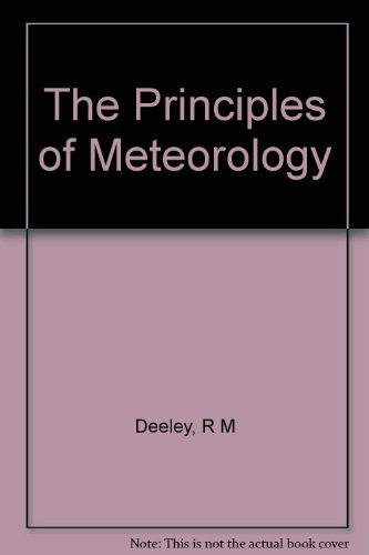 The Principles of Meteorology