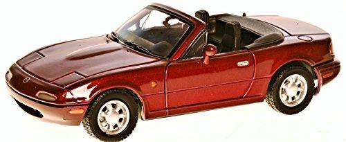 Motor Max Mazda MX-5 Miata bordeaux 1:24 (Mazda Miata Motor)