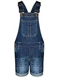 Carolilly Unisex Baby Girls Dungarees Cotton Jumpsuit Casual Bib Overall