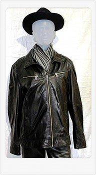 Preisvergleich Produktbild David Moore Herren Lederjacke Elvis Gr.48 LN Artikel 72401