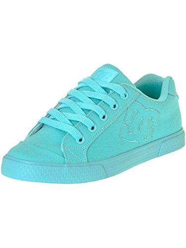 DC Shoes Chelsea Tx, Baskets Basses Femme Bleu - Aqua