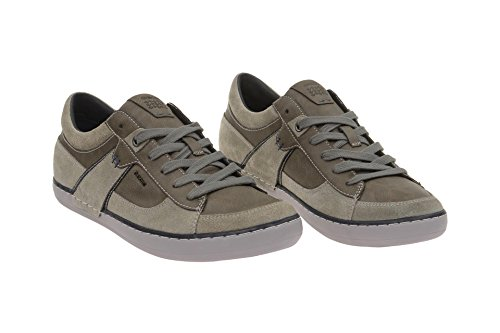 Geox  U44R3C 022MEC1006, Chaussures à lacets et coupe classique homme Hell-Grau