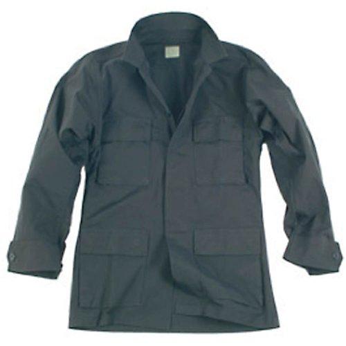 US BDU Jacke schwarz Gr.M (Ripstop Us Bdu Shirt)