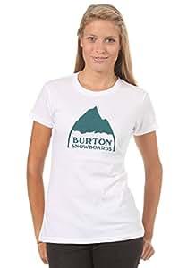 Damen T-Shirt Burton Mountain Logo Tee SS Women