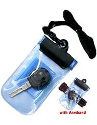 Pochette imperméable pour clés BeachPlay avec brassard pour sports nautiques