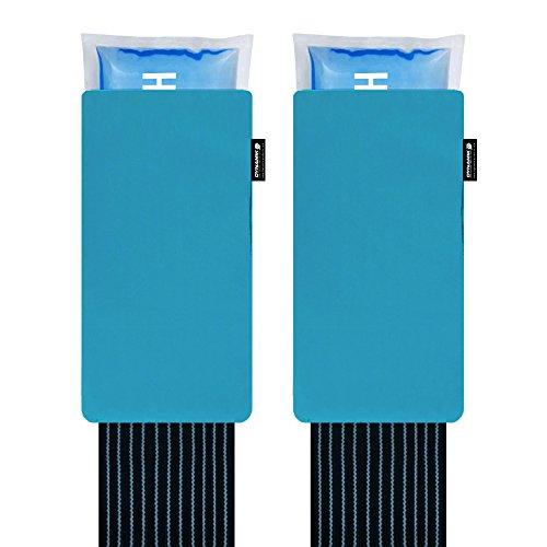 Große wiederverwendbare heiß und kalt Packung mit Druckmanschette- zurück Knie Schulter Knöchelverletzung ( Packung mit 2)