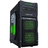 PALICOMP Gaming PC AMD A8-Series APU A10-7850K 3.7Ghz (Turbo 4.0Ghz) - Quad Core - 6 GPU - ASUS A88XM-PLUS - 8GB DDR3 1600Mhz Crucial Ballistix - 240GB SSD - 1TB Sata3 HDD - AMD R7 Integrated Graphics - Windows 10 64Bit - CIT GM1 Green - Office PC Home PC Desktop PC - Basic Gaming PC