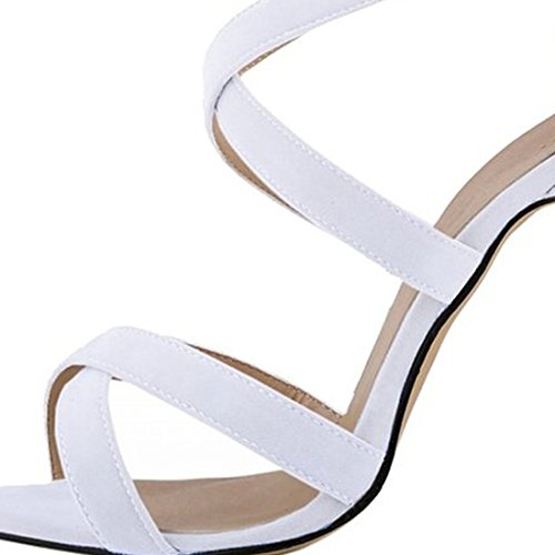 Azbro, Sandali donna Bianco