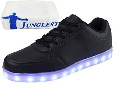 (Present:kleines Handtuch)c31 EU 37, JUNGLEST® Turnschuhe Leuchtende LED mit mode Sneaker