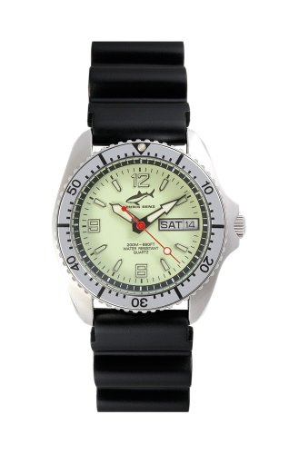 Chris Benz One Medium CBM-N-SI-KB Reloj unisex Reloj de Buceo