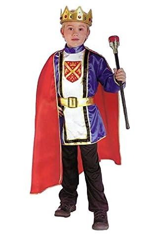 Roi Costume De Déguisement Pour Enfants - Déguisement de roi pour enfants 5 pièces