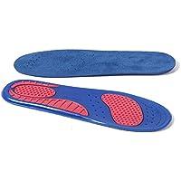 SodKK Bequeme atmungsaktive Sport-Einlegesohle, Silikon-Flanell-weiche laufende Schuhe legen für Männer und Frauen... preisvergleich bei billige-tabletten.eu