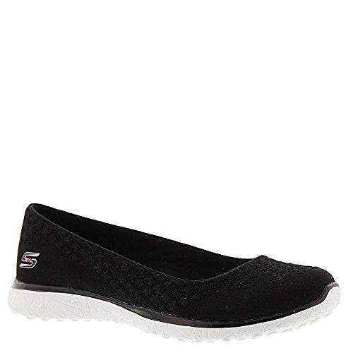 Skechers Damen Microburst-one Sneaker Nero / Bianco