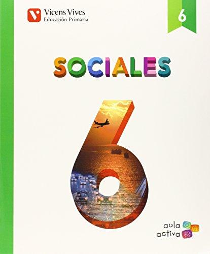 Sociales 6 (aula Activa) - 9788468228075 por Maria Batet Rovirosa