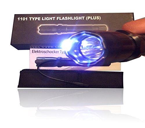 SWAT Elite Elektroschocker Police Polizei Taschenlampe 1000 Lumen