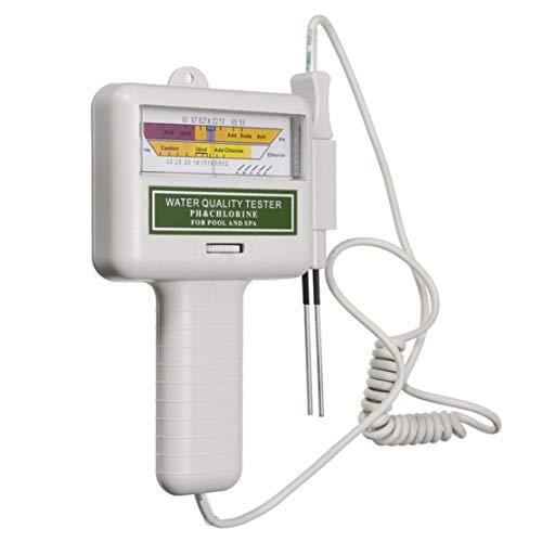 Preisvergleich Produktbild LouiseEvel215 PH Cl2 Chlor Level Meter Wasserqualität Tester Test Monitor Für Schwimmbad Spa Wasserqualität Detektor