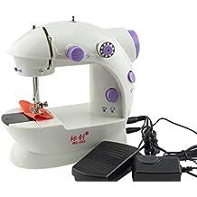 Sun Glower Special - Máquina de Coser pequeña y Sencilla para el hogar, ...