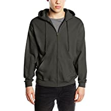Fruit of the Loom Zip Hooded Sweatshirt-Capucha Hombre