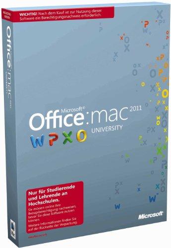 Microsoft Office Mac University 2011 – Berechtigungsnachweis erforderlich