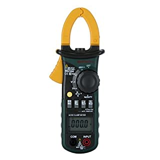 Mastech MS2108A Autoranging DC AC Current Digital Clamp Meter Multimeter Stromspannung Frequenz Messgerät